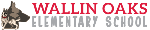 Wallin Oaks Elementay School logo centered